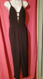 #613 NEW WITH TAGS French Atmosphere Jumpsuit